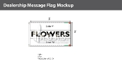 Flowers Flags 3x5 foot (Choose Colors)