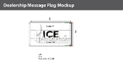 Ice Flags 3x5 foot (Choose Colors)