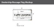 Now Leasing Flags 3x5 foot (Choose Colors)