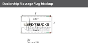 Used Trucks Flags 3x5 foot (Choose Colors)