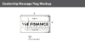 We Finance Flags 3x5 foot (Choose Colors)