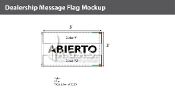 Abierto Flags 3x5 foot (Choose Colors)