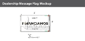 Financiamos Flags 3x5 foot (Choose Colors)