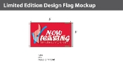 Now Leasing Flags 3x5 foot