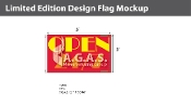 Open 24/7 Flags 3x5 foot