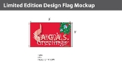 Season's Greetings  Flags 3x5 foot