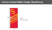Lowest Prices Flags 8x2.5 foot