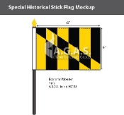 Lord Baltimore Stick Flags 4x6 inch