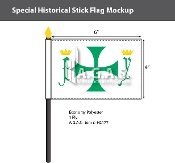 Colombus Stick Flags 4x6 inch