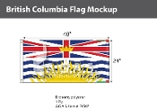 British Columbia Flags 2x4 foot