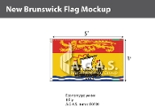 New Brunswick Flags 3x5 foot