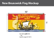 New Brunswick Flags 5x10 foot