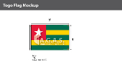 Togo Flags 4x6 foot