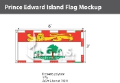 Prince Edward Island Flags 3x6 foot (Official ratio 1:2)