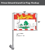 Prince Edward Island Car Flags 12x16 inch Economy