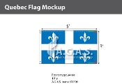Quebec Flags 3x5 foot