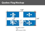 Quebec Flags 54x108 inch