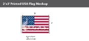 USA Flags 2x3 foot