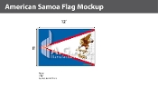 American Samoa Flags 8x12 foot