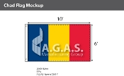 Chad Flags 6x10 foot