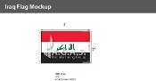 Iraq Flags 2x3 foot (New Design)