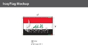 Iraq Flags 5x8 foot (New Design)