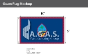 Guam Flags 6x10 foot