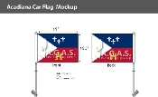 Acadiana Car Flags 10.5x15 inch Premium