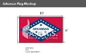 Arkansas Flags 6x10 foot