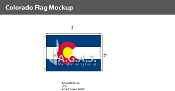 Colorado Flags 2x3 foot