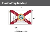 Florida Flags 12x18 inch