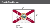 Florida Flags 3x5 foot