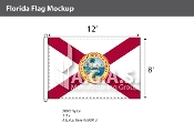Florida Flags 8x12 foot