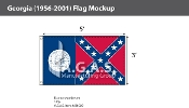 Georgia Flags 3x5 foot (1956-2001)