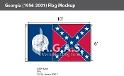 Georgia Flags 6x10 foot (1956-2001)