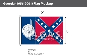 Georgia Flags 8x12 foot (1956-2001)