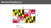 Maryland Flags 3x5 foot