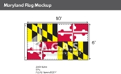 Maryland Flags 6x10 foot