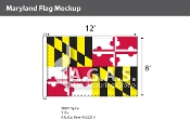 Maryland Flags 8x12 foot