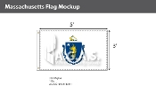 Massachusetts Flags 3x5 foot