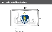Massachusetts Flags 6x10 foot