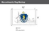 Massachusetts Flags 8x12 foot