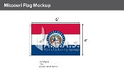 Missouri Flags 4x6 foot