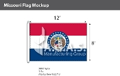 Missouri Flags 8x12 foot