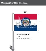 Missouri Car Flags 12x16 inch