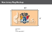New Jersey Flags 6x10 foot