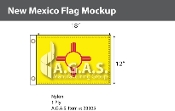 New Mexico Flags 12x18 inch
