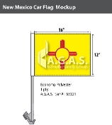 New Mexico Car Flags 12x16 inch