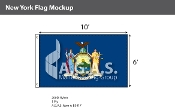 New York Flags 6x10 foot