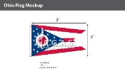 Ohio Flags 3x5 foot
